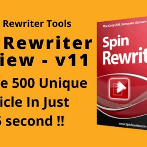 Spin Rewriter 11 Review | The Best Article Rewriter Tool | Latest Version Free Download