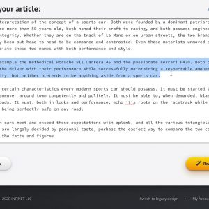 How to manually add alternative sentences and paragraphs (in Step 1) - Spin Rewriter tutorial