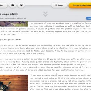 Spin Rewriter 11 - Human-quality articles at the push of a button (free trial)