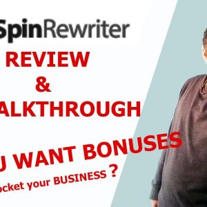 SPIN REWRITER 11 REVIEW* Best Article Spinner for Mac or PC??? mmm🤔