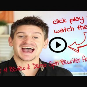 Spin Rewriter 11 Review & Demo: Spin Rewriter Article Spinner Tutorial [2021] 😎