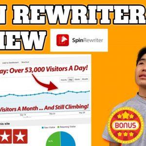 ✅Spin Rewriter 11 Review| Spin Rewriter 11 Demo 👉 PLUS MY EXCLUSIVE BONUSES