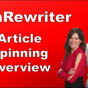Article Spinning Overview | Article Spinner SpinReWriter Review