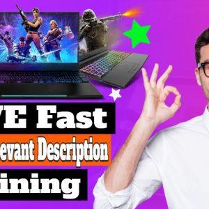 Yive MASS VIDEOS Quick Description Training - Spin Rewriter 11 & Video Marketing Blaster Spinning