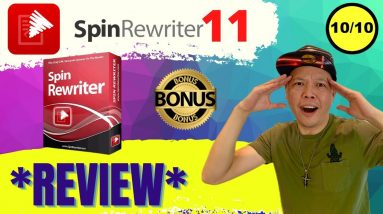 Spin Rewriter 11 Review and Bonuses - Don't Buy SpinRewriter 11 Without My $7244 Custom BONUSES