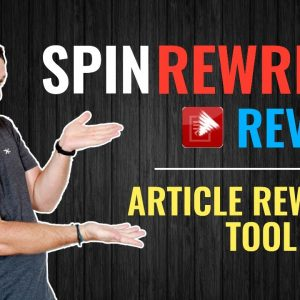 Spin Rewriter Review ✍️ Article Rewriter Tool & Spinner ❇️