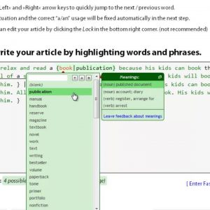 How To Spin Articles Manually? [Spin Rewriter Tutorial]