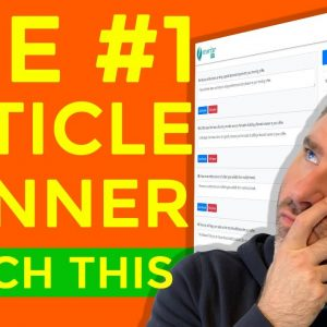 Best Article Spinner and Article Rewriter in 2020 / 2021 to Create Unique Articles