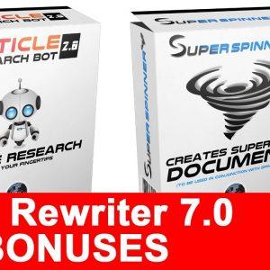 Spin Rewriter 7.0 Bonus A Spin Rewriter 7.0 Review And Bonuses | Best Spinrewriter 7.0 Bonus