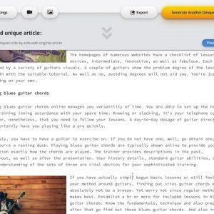 Spin Rewriter 11   Sneak Peek Side by Side Feature