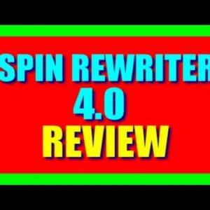Spin Rewriter 4.0 Review | Spin Rewriter 4.0 Discount + BONUS