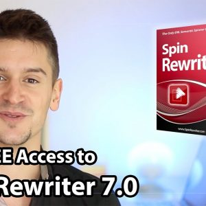 Spin Rewriter 7.0 - Article Spinner with ENL Semantic Spinning