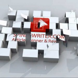 Spin Rewriter - One Click Rewrite - September 2011