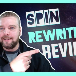 Spin Rewriter Review | Spin Rewriter 10 Tutorial and Demo