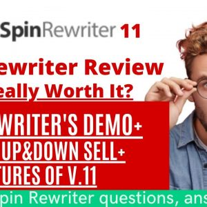 Spin Rewriter Review- Spin Rewriter Version 11 Honest Review With Demo