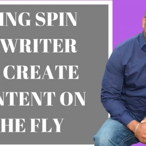 Spin Rewriter Review To Create Content