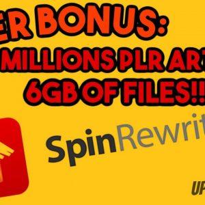 Spin Rewriter 11 Review 2020 By Real User - Huge Bonus!!! Best Spin Rewriter Software
