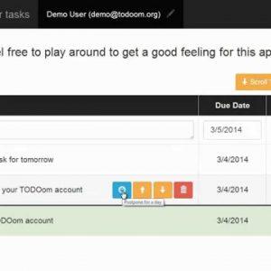 TODOom: Simple & Friendly ToDo & Reminder App