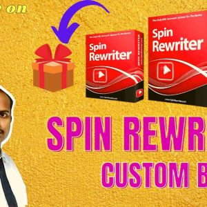 Spin Rewriter 11 Review |Don't Buy Spin Rewriter 11| Before My Review Plus Bonuses| review er