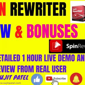 👉✅Spin ReWriter 11 Review & Bonus:Create Unique Articles in Seconds & Rank on Google in 2020-2021✅👈