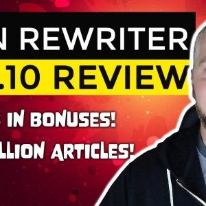 Spin Rewriter 10 Review and Demo