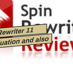 Spin Rewriter 11  Evaluation  and also demo