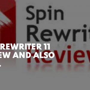 Spin Rewriter 11 Review  and also  trial