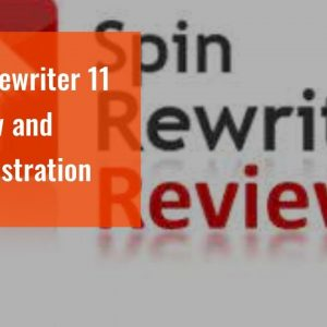 Spin Rewriter 11 Review and  demonstration