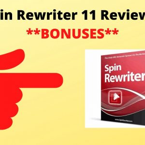 Spin Rewriter 11 Review With **Bonuses**