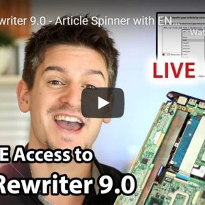 Spin Rewriter 9 0  - Article Spinner with ENL Semantic Spinning