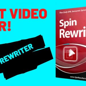 SPIN REWRITER FOR AFFILIATE MARKETERS AND BLOGGERS