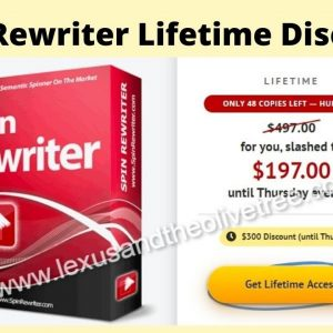 Spin Rewriter Lifetime Discount Price $197 [PROOF]