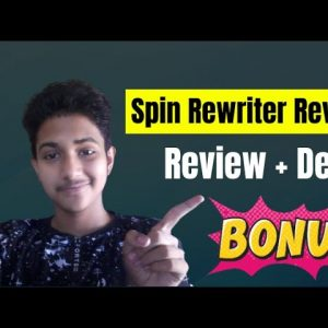 Spin Rewriter Review : Demo and + Mega Bonus