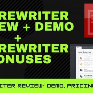 Spin Rewriter Review + Demo | Spin Rewriter 45 Bonuses