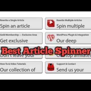spin rewriter review # top article spinner in hindi