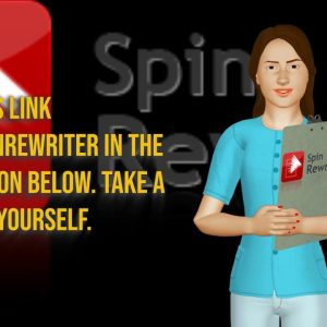 SPIN REWRITER the Content Article Spinner pt3