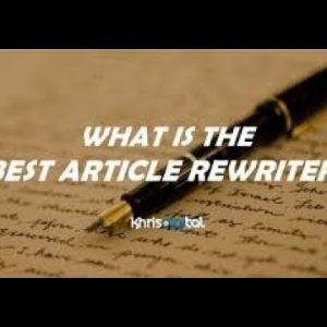 Spin Rewriter VS The Best Spinner