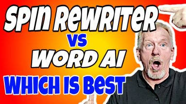 Spin Rewriter Vs Word Ai - Which Article Spinner is Best?