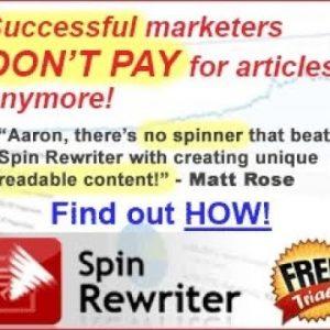 Spinrewriter 10 Launch Promo