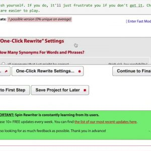 Spin Rewriter 11 - SpinRewriter 11 Reviews Spin Rewriter 5.0 Sneak Peek - Demo Video