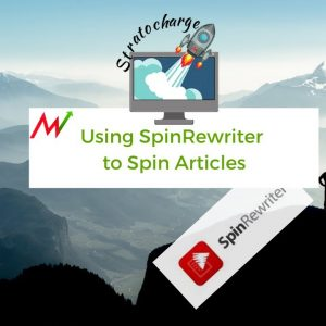 Using Spin Rewriter to Rewrite Articles
