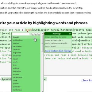 Spin Rewriter 11 - SpinRewriter 11 Reviews How To Spin Articles Manually- [Spin Rewriter Tutorial]